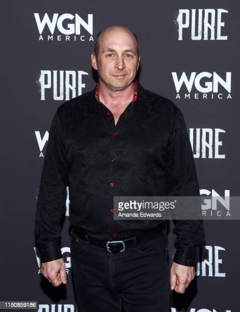 Michael Amo arrives at WGN America's Pure Season 2 Premiere on May 21 2019 in West Hollywood California