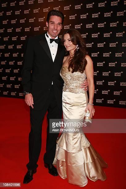 Michael and Alexandra Stich in Monte Carlo Monaco on November 07th 2007