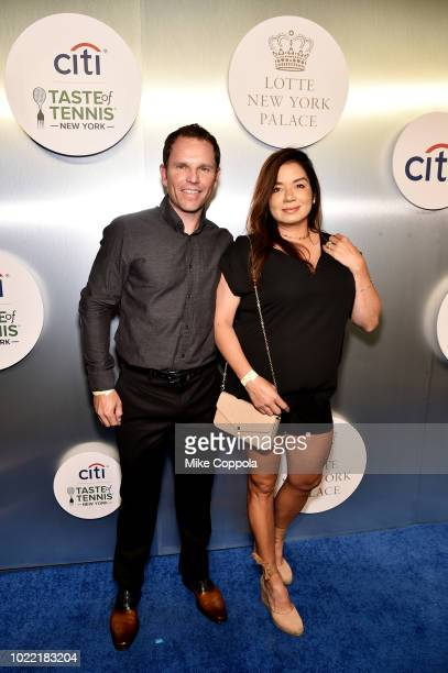 Michael and Lilly Russell attend the Citi Taste Of Tennis gala on August 23 2018 in New York City