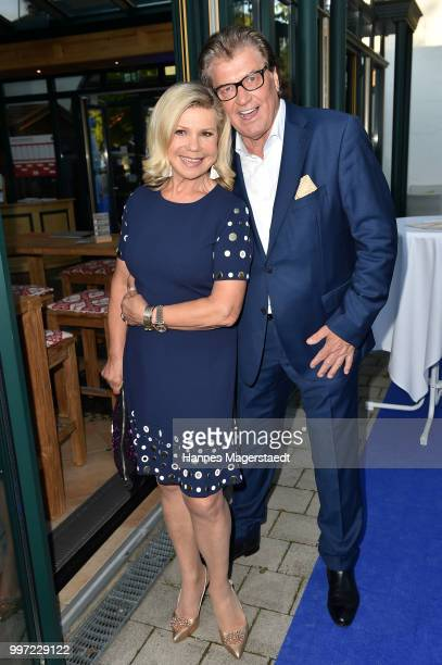Michael and Marianne Hartl during the dinner Royal at the Gruenwalder Einkehr on July 12 2018 in Munich Germany