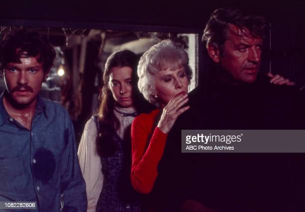 Michael Anderson Jr Kitty Winn Barbara Stanwyck Richard Egan appearing in the Walt Disney Television via Getty Images tv movie 'The House That Would...