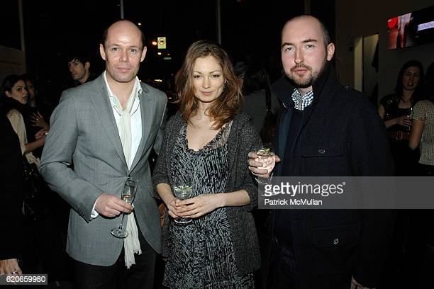 Michael Anderson Louise Debanham and Douglas Stuart attend BANANA REPUBLIC Dinner to Celebrate the Summer 2008 Collection and Partnership with THE...