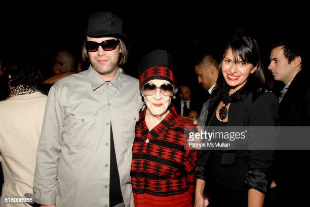 Michael Anderson Zelda Kaplan and Mia Morgan attend Richie Rich 2011 Fashion Show at The Studio at Lincoln Center on September 9 2010 in New York City