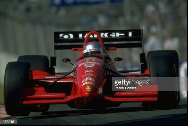 Michael Andretti of the USA in action during the Gold Coast Indy Grand Prix in Surfer's Paradise Australia Andretti finished in first place Mandatory...