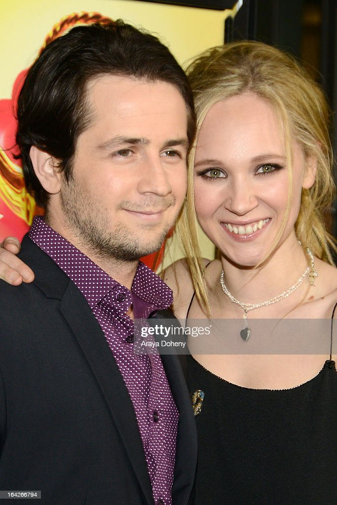 Michael Angarano and Juno Temple arrive at the LA screening of Magnolia Pictures' 'The Brass Teapot' at ArcLight Hollywood on March 21, 2013 in Hollywood, California.