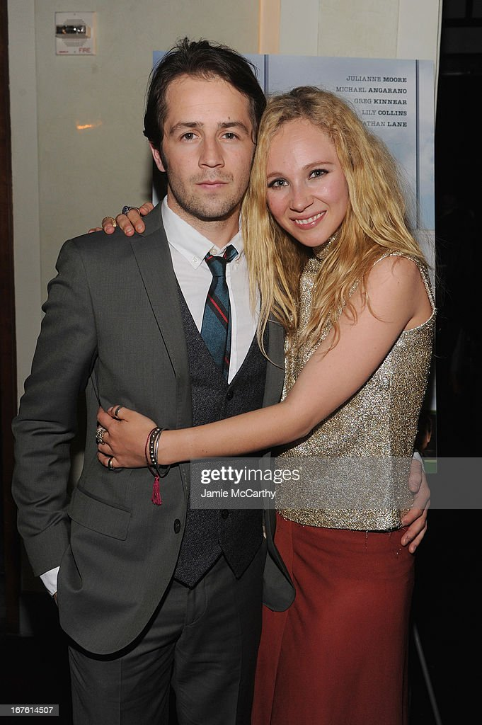 Michael Angarano and Juno Temple attend 'The English Teacher' After Party during the 2013 Tribeca Film Festival on April 26, 2013 in New York City.