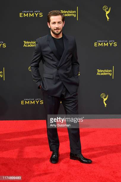 Michael Angarano attends the 2019 Creative Arts Emmy Awards on September 15 2019 in Los Angeles California