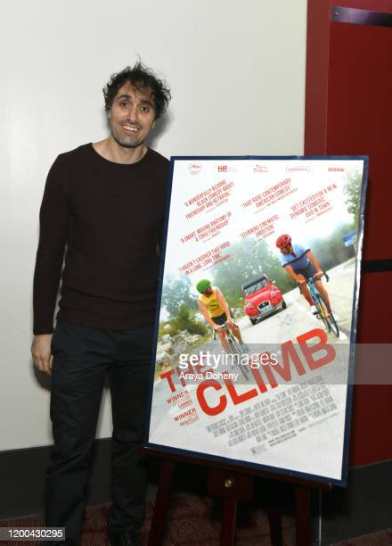 """Michael Angelo Covino at the Film Independent Spirit Awards screening series presents """"The Climb"""" at ArcLight Culver City on January 18, 2020 in..."""