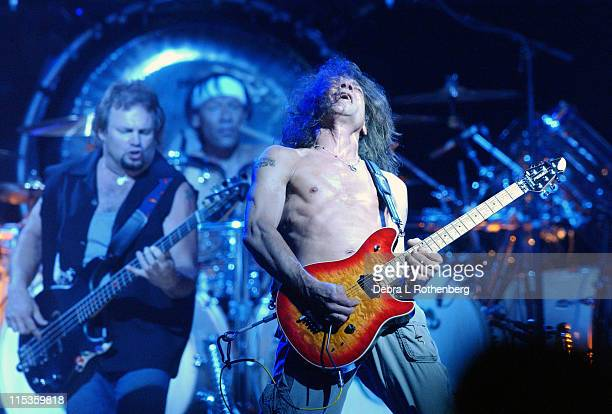 Michael Anthony Alex Van Halen and Eddie Van Halen