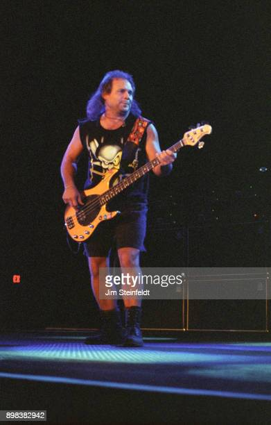 Michael Anthony bassist for Van Halen performs at the Target Center in Minneapolis Minnesota on July 30 1995