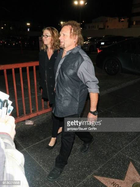 Michael Anthony is seen on January 31 2018 in Los Angeles California