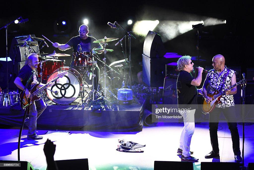 Sammy Hagar And The Circle Perform At Red Rocks Amphitheatre