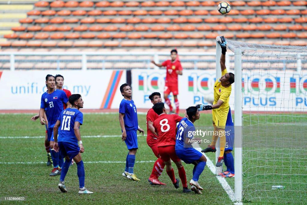 MYS: Laos v Philippines - AFC U-23 Championship Qualifier