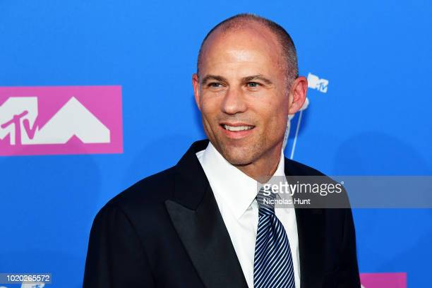 Michael Avenatti attends the 2018 MTV Video Music Awards at Radio City Music Hall on August 20 2018 in New York City