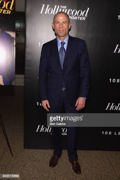 Michael Avenatti attends The Hollywood Reporter's Most Powerful People In Media 2018 at The Pool on April 12 2018 in New York City