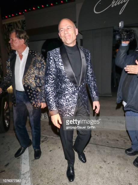 Michael Avenatti is seen on December 31 2018 in Los Angeles California