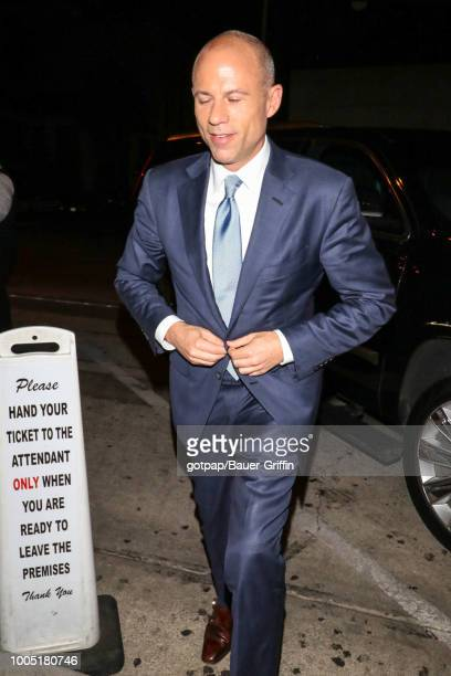 Michael Avenatti is seen on July 24 2018 in Los Angeles California