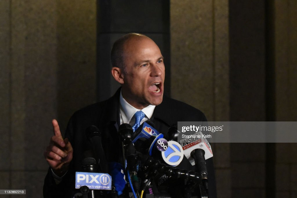Lawyer Michael Avenatti Arrested In New York For Nike Extortion : Nachrichtenfoto