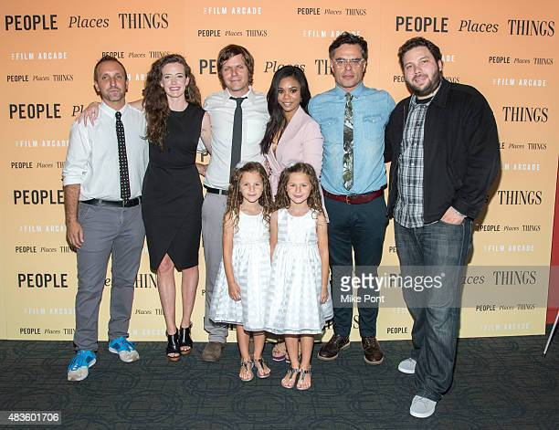 Michael B Clark Stephanie Allynne James C Strouse Regina Hall and Alex Turtletaub and Aundrea Gadsby Gia Gadsby and Jemaine Clement attend the...