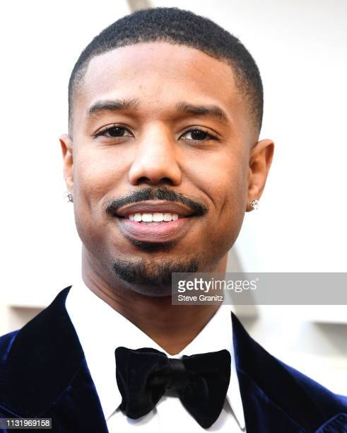 Michael B Jordan arrives at the 91st Annual Academy Awards at Hollywood and Highland on February 24 2019 in Hollywood California
