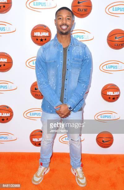 Michael B Jordan at Lupus LA's MBJAM 17 on September 16 2017 in Marina del Rey California