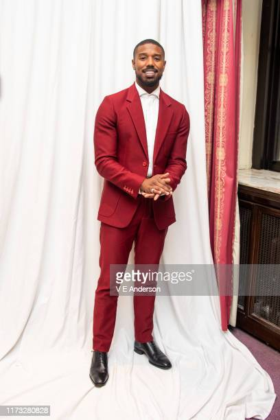 Michael B Jordan at the Just Mercy Press Conference at the Fairmont Royal York on September 07 2019 in Toronto Canada
