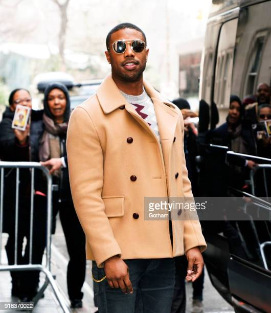 Michael B Jordan at The View on February 14 2018 in New York City