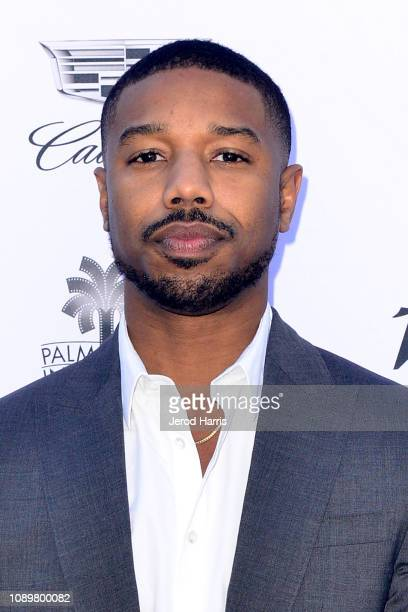 Michael B Jordan attends 2019 Palm Springs International Film Festival Variety's Creative Impact Awards/10 Directors To Watch at the Parker Palm...