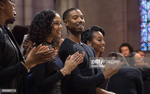 Michael B Jordan attends at the 2016 MLK Now at Riverside Church on January 18 2016 in New York City