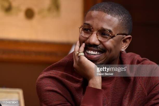 "Michael B. Jordan attends ""David Makes Man"" Clips and Conversations at the Filmmaker Lodge on January 25, 2019 in Park City, Utah."