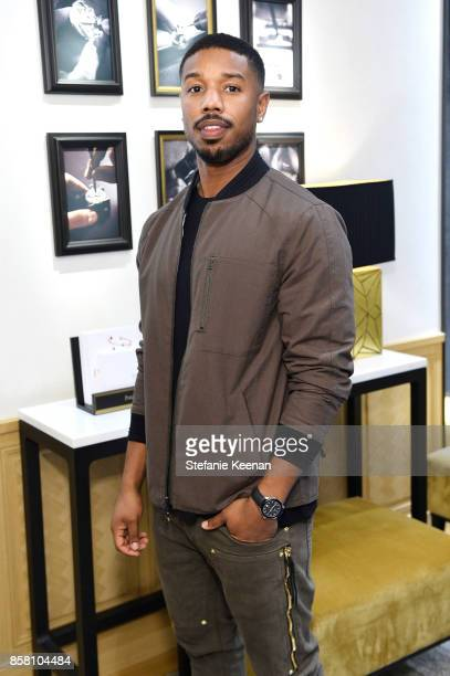 Michael B Jordan attends Piaget Celebrates Brand Ambassador Michael B Jordan In Support Of Lupus LA at Piaget on October 5 2017 in Beverly Hills...