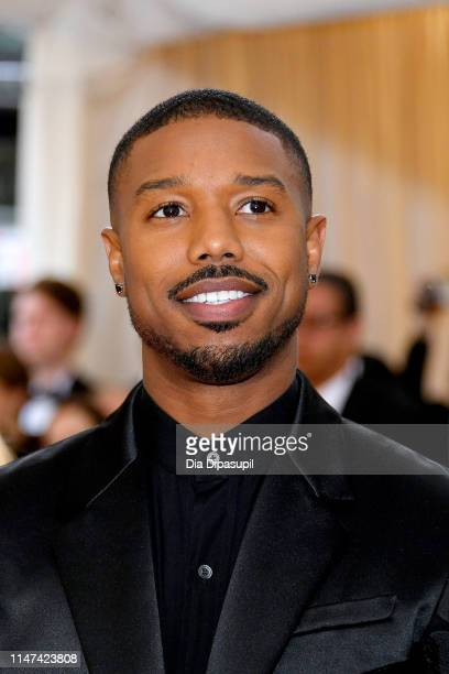 Michael B Jordan attends The 2019 Met Gala Celebrating Camp Notes on Fashion at Metropolitan Museum of Art on May 06 2019 in New York City