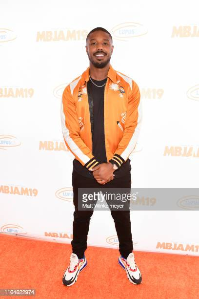 Michael B Jordan attends the 3rd annual MBJAM19 presented by Michael B Jordan and Lupus LA at Dave Busters on July 27 2019 in Hollywood California