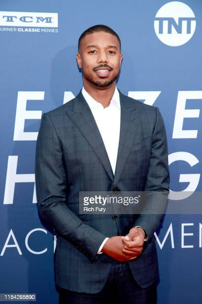 Michael B Jordan attends the 47th AFI Life Achievement Award honoring Denzel Washington at Dolby Theatre on June 06 2019 in Hollywood California