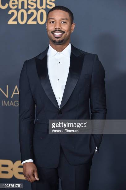 Michael B. Jordan attends the 51st NAACP Image Awards at the Pasadena Civic Auditorium on February 22, 2020 in Pasadena, California.