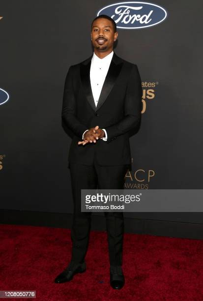 Michael B. Jordan attends the 51st NAACP Image Awards, Presented by BET, at Pasadena Civic Auditorium on February 22, 2020 in Pasadena, California.