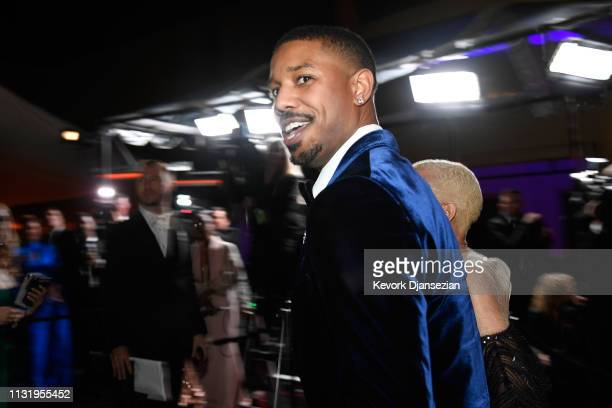 Michael B Jordan attends the 91st Annual Academy Awards Governors Ball at Hollywood and Highland on February 24 2019 in Hollywood California