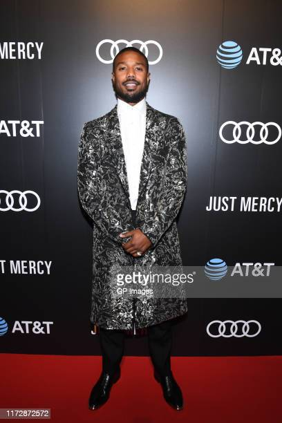 """Michael B. Jordan attends the AT&T and Audi Canada post-screening event for """"Just Mercy"""" during the Toronto International Film Festival at Fermenting..."""