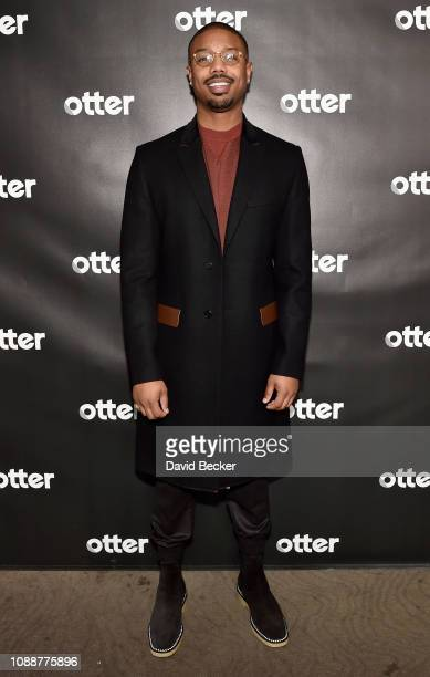 Michael B Jordan attends the genLOCK Presented By Otter Media And Rooster Teeth Animation At Sundance 2019 at Tupelo on January 25 2019 in Park City...