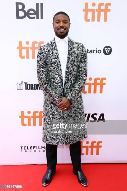 Michael B Jordan attends the Just Mercy premiere during the 2019 Toronto International Film Festival at Roy Thomson Hall on September 06 2019 in...