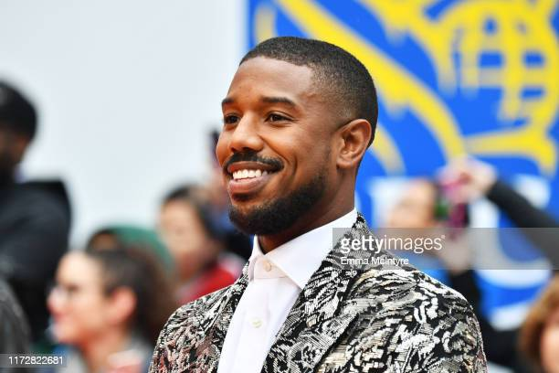 """Michael B. Jordan attends the """"Just Mercy"""" premiere during the 2019 Toronto International Film Festival at Roy Thomson Hall on September 06, 2019 in..."""