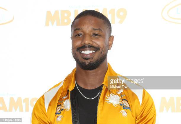 Michael B. Jordan attends the Lupus LA presents - 3rd Annual MBJAM19 held at Dave & Busters on July 27, 2019 in Hollywood, California.
