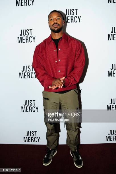 Michael B Jordan attends Warner Bros Hosts A Special Screening Of Just Mercy at DGA Theater on September 8 2019 in New York City