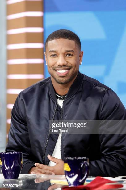 AMERICA Michael B Jordan is a guest on 'Good Morning America' Tuesday February 13 airing on the ABC Television Network MICHAEL