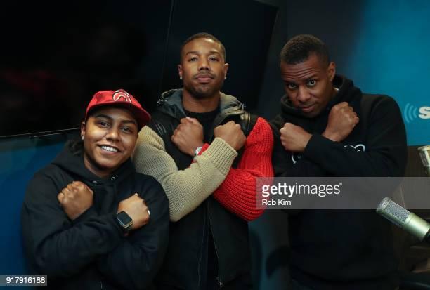 Celebrities Visit Siriusxm February 13 2018 Stock Photos And