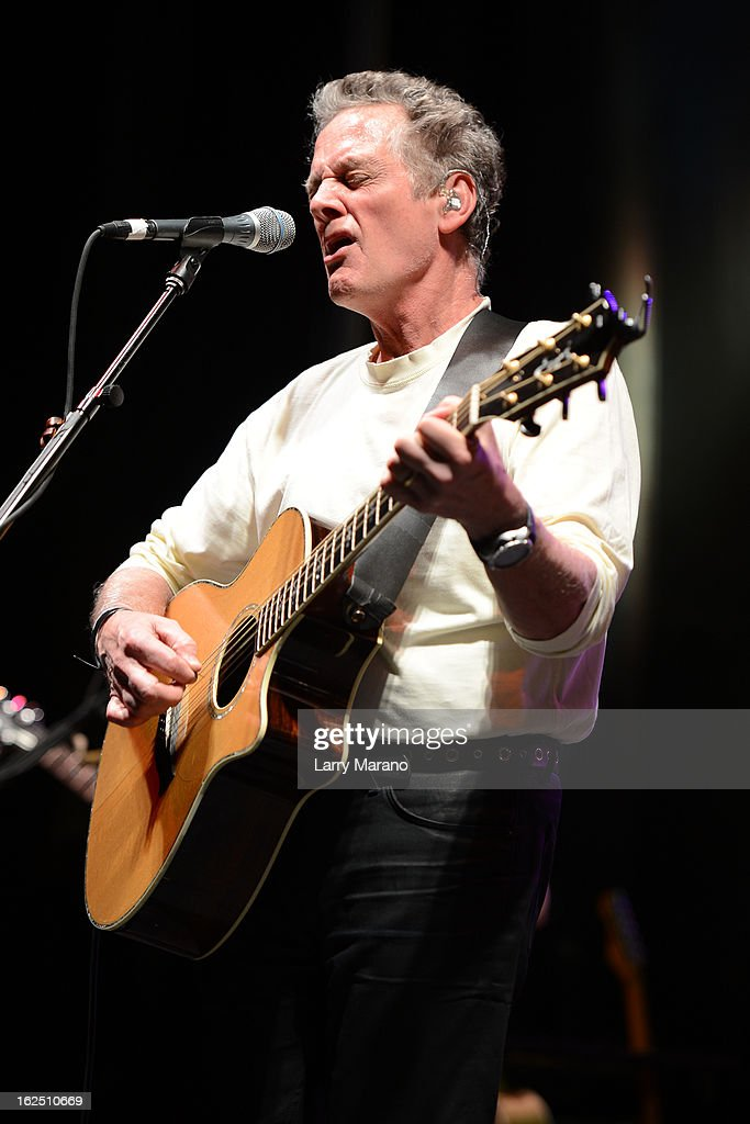 Michael Bacon of The Bacon Brothers performs during the Bacon Festival at Seminole Casino Coconut Creek on February 23, 2013 in Coconut Creek, Florida.