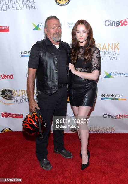 "Michael Baldwin and actress Samantha Rose Baldwin attend the premiere of ""Relish"" at the Burbank International Film Festival at AMC Burbank 16 on..."