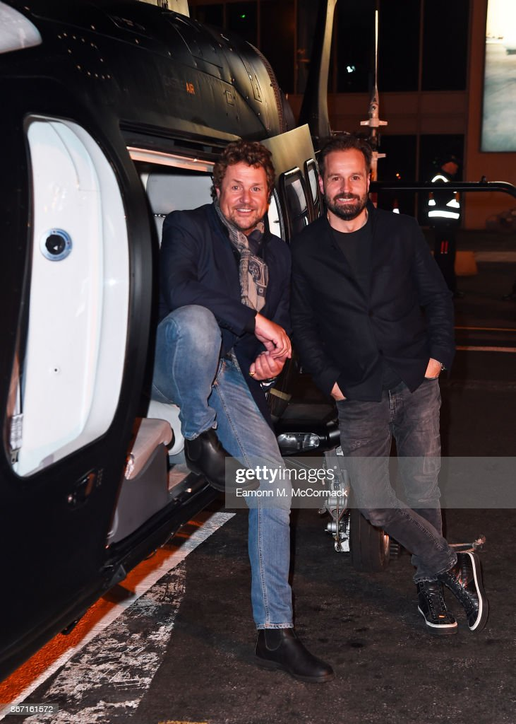 Michael Ball and Alfie Boe 'Together Again' World Record Attempt : News Photo