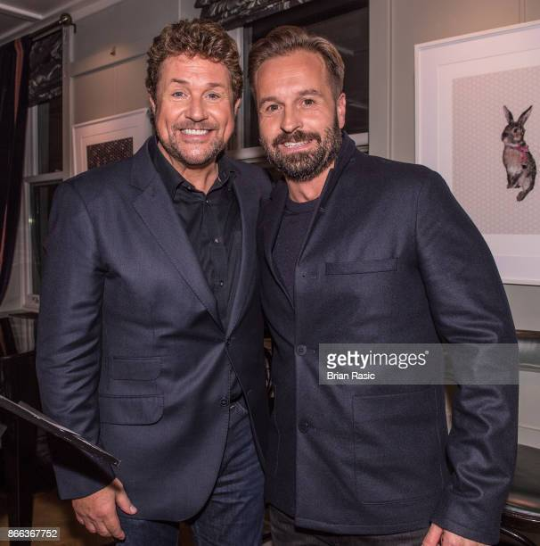 Michael Ball and Alfie Boe at the private event for release of 'Together Again' album at The Groucho Club on October 24 2017 in London England