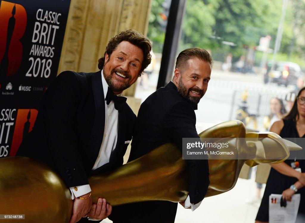 Classic BRIT Awards 2018 - Red Carpet Arrivals : News Photo